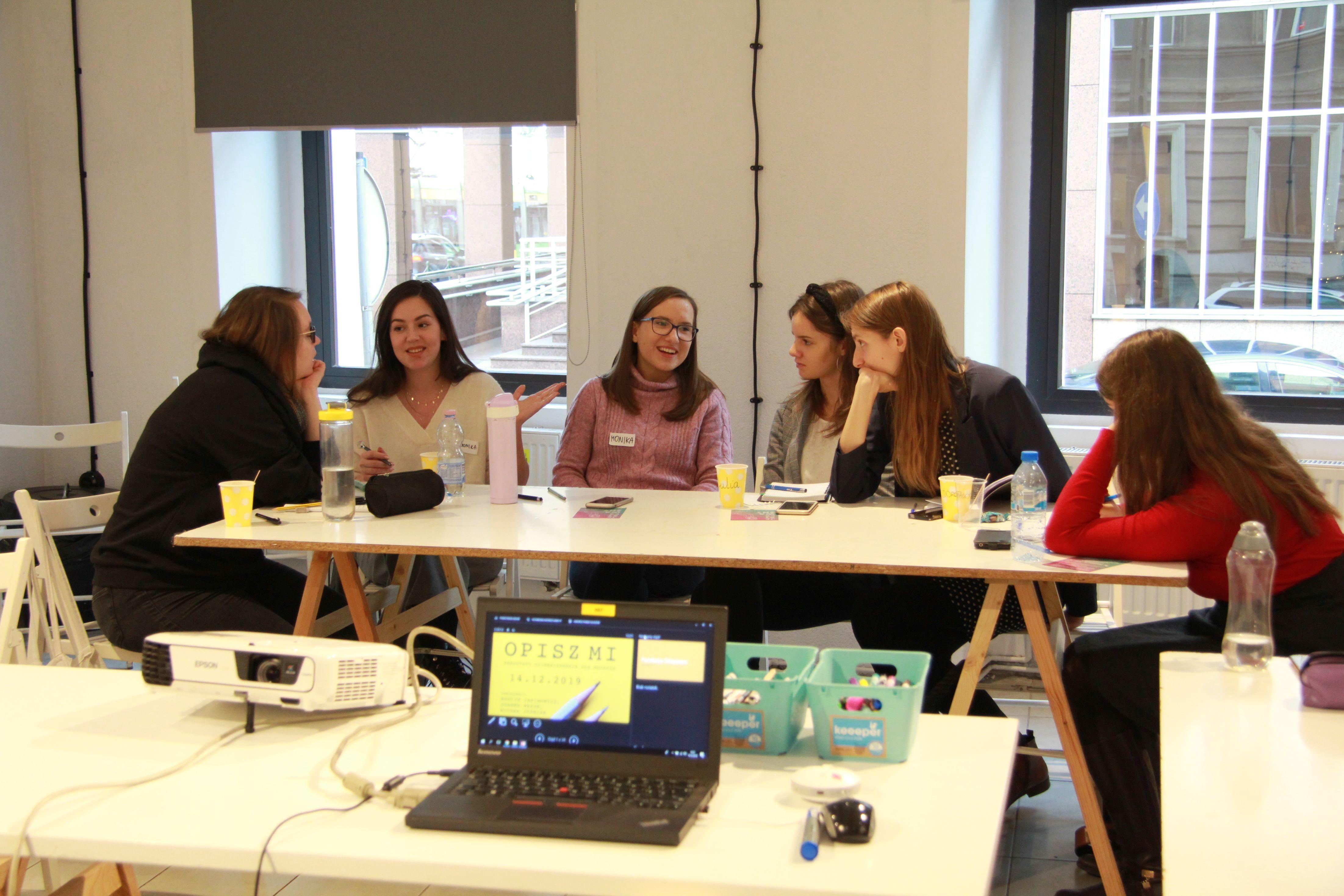 Opisz mi - warsztaty dziennikarskie dla młodzieży
