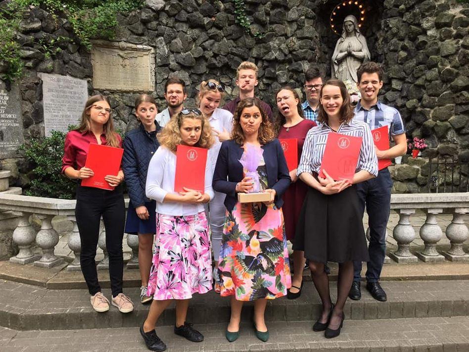 Uczestnicy Szkoły Młodego Lidera - 2020 r.